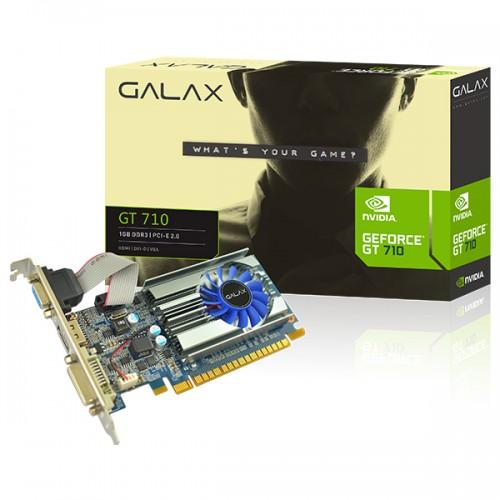GALAX GEFORCE GT 710 1GB - Graphics Card