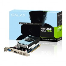 GALAX GEFORCE GTX 750 Ti  2GB