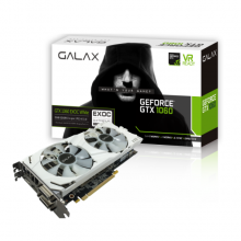 GALAX GeForce® GTX 1060 EX OC White 3GB
