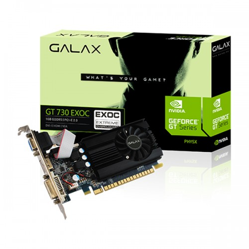GALAX GEFORCE GT 730  EXOC 1GB