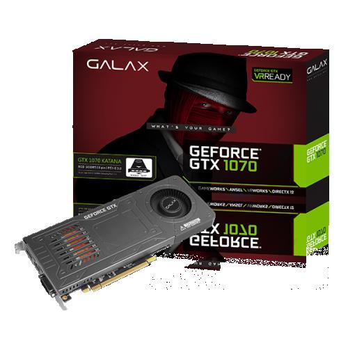 GALAX GeForce® GTX 1070 KATANA