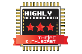 Highly recommended award for GALAX GTX 1070 EXOC-SNPR