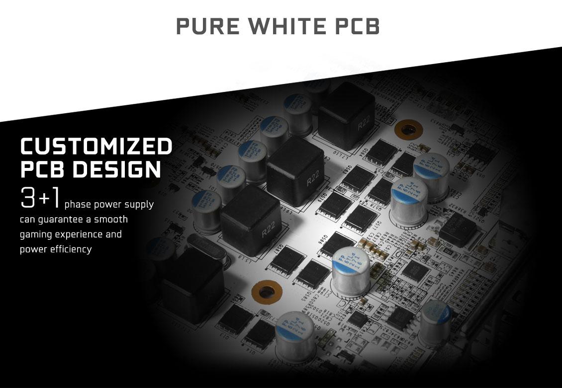 GALAX GeForce® GTX 1050 Ti EXOC White - GeForce® GTX 10