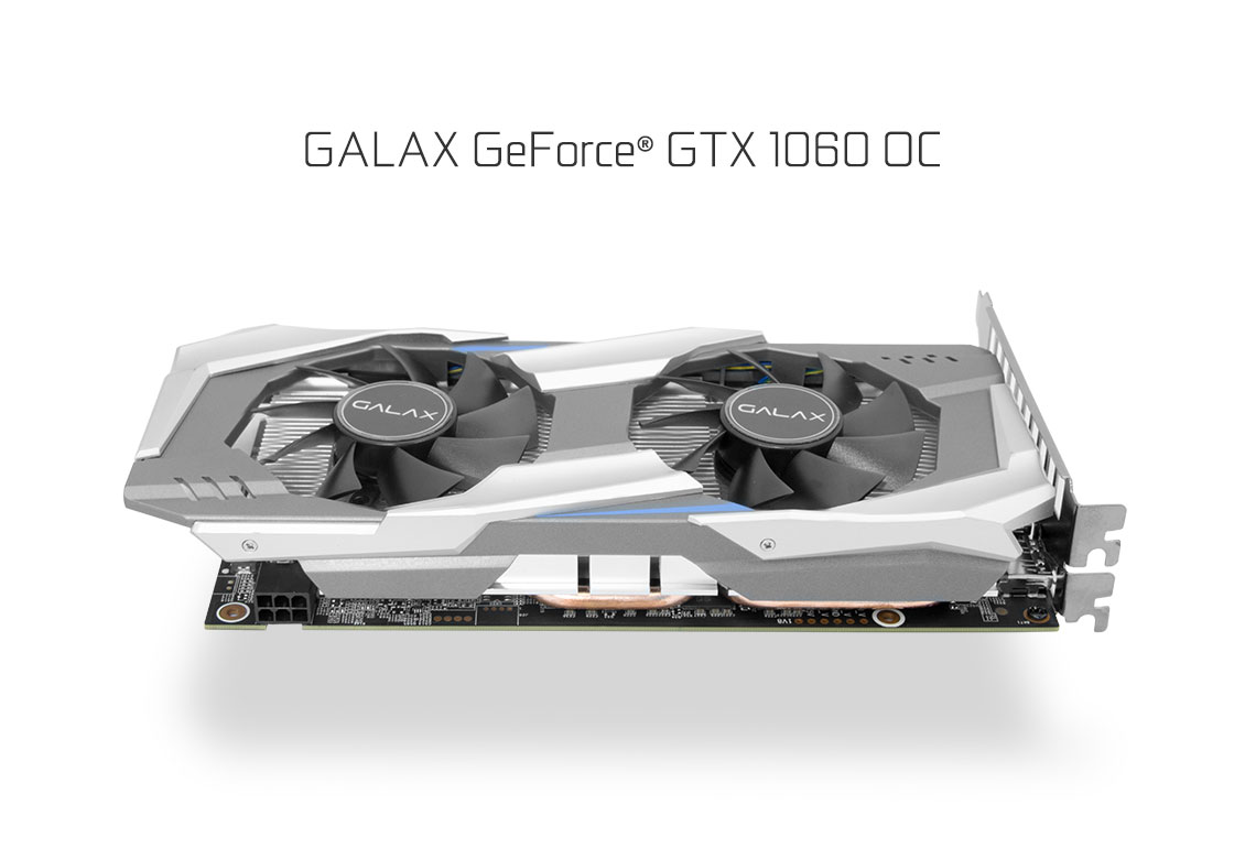 GALAX GeForce® GTX 1060 OC 3GB - Graphics Card