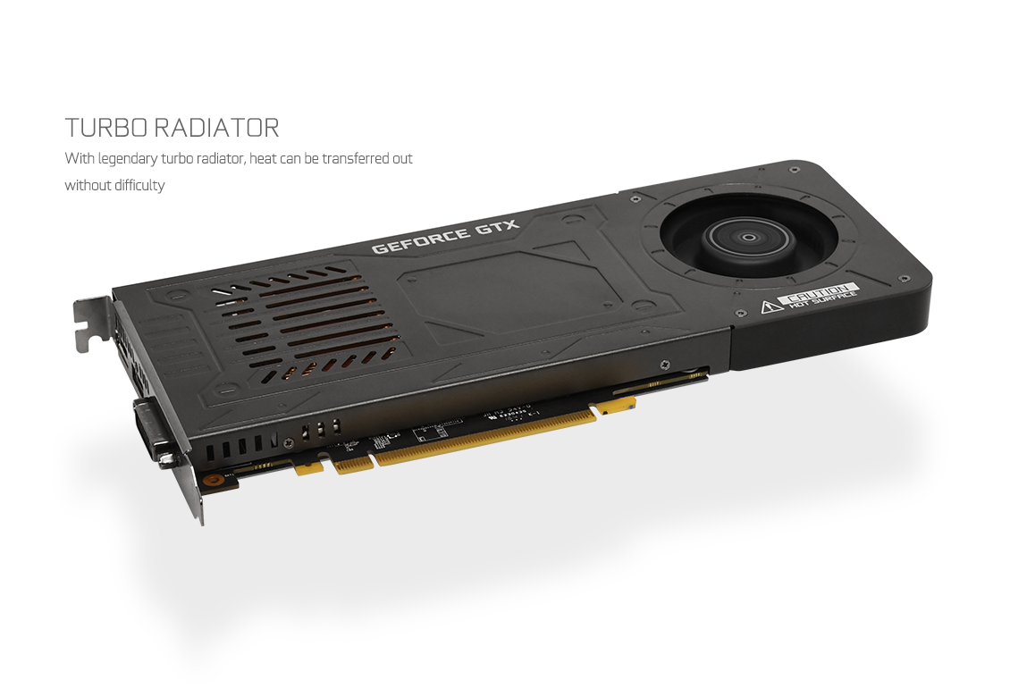GALAX GeForce® GTX 1070 KATANA - GeForce® GTX 10 Series - Graphics Card