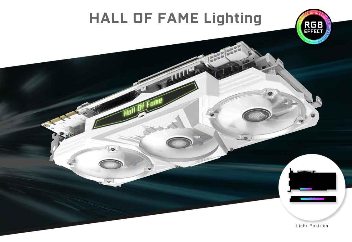 GALAX GeForce® GTX 1070 Ti HOF - Hall of Fame (HOF) - Graphics Card