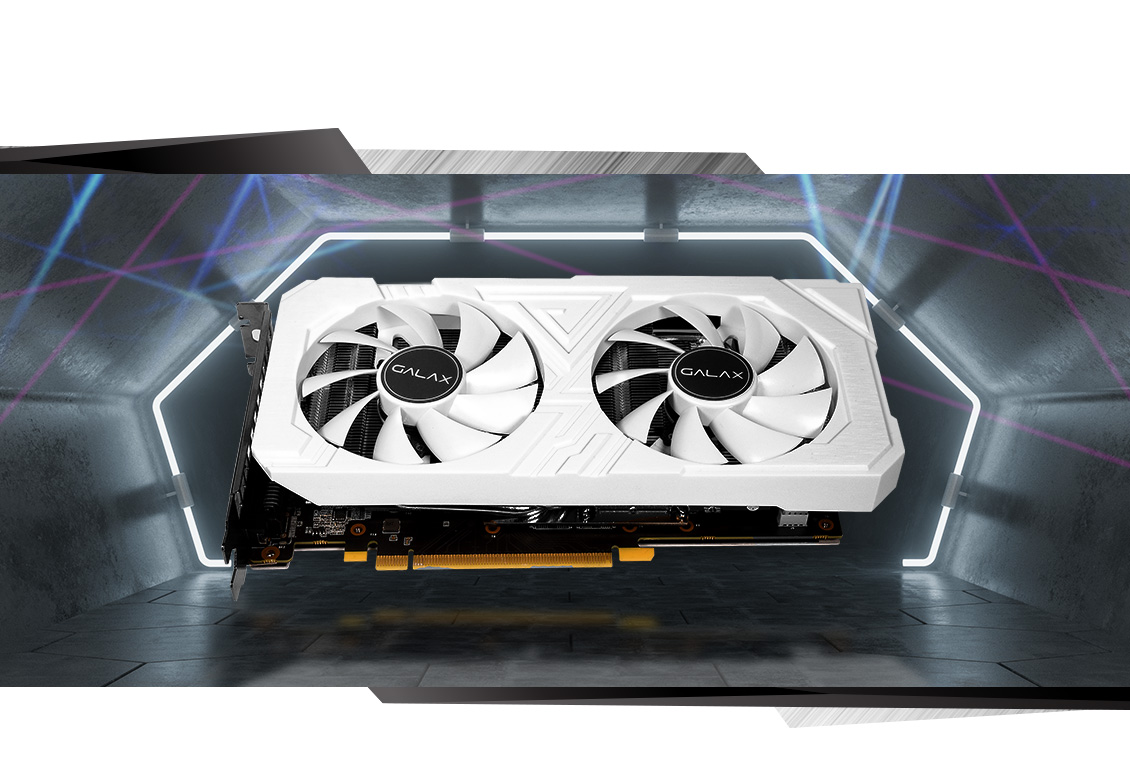 GALAX GeForce® RTX 2060 EX WHITE (1-Click OC) - GeForce® RTX 2060