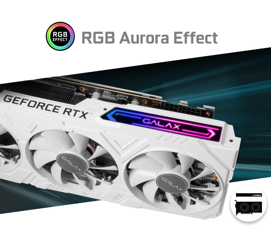 GALAX GeForce® RTX 2070 EX Gamer (1-Click OC) - Graphics Card