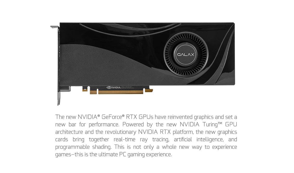 GALAX GeForce® RTX 2070 Super - GeForce® RTX 20 Series