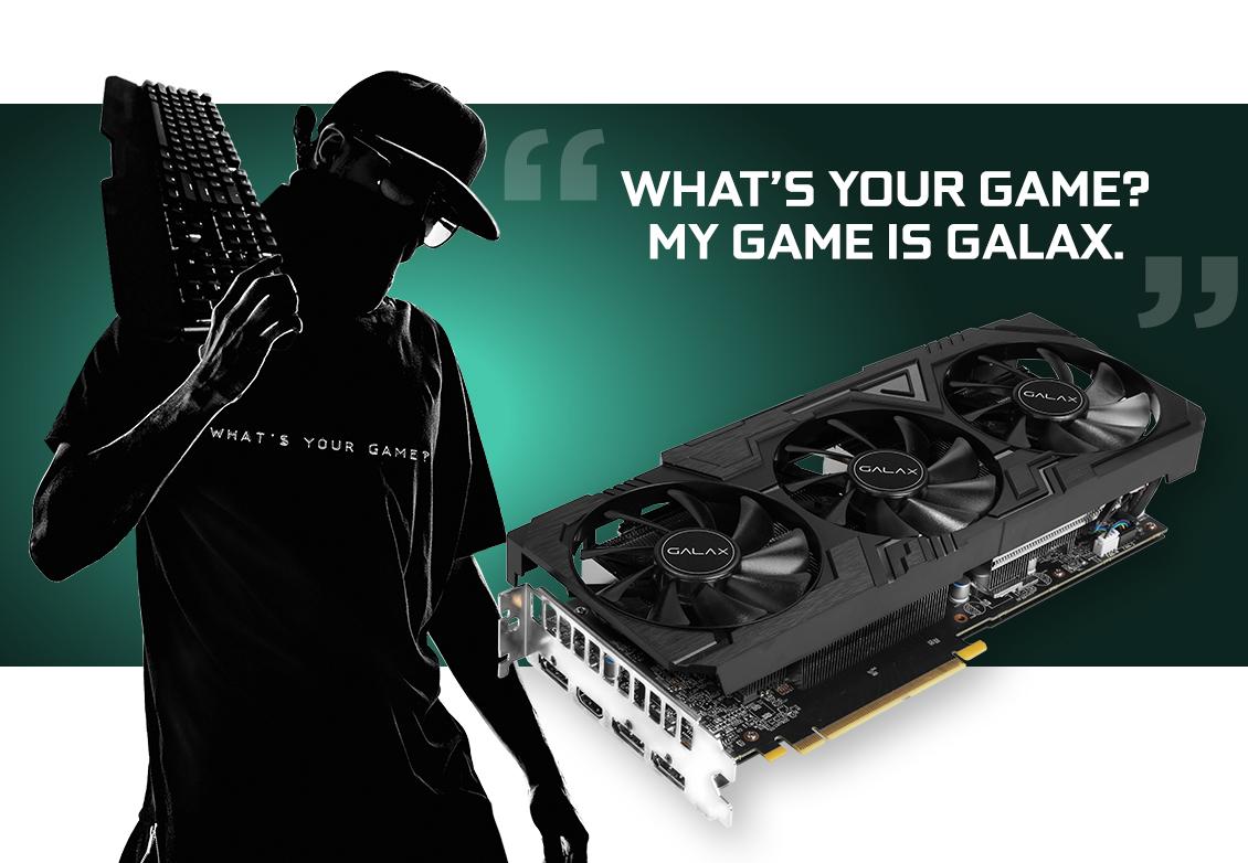 GALAX GeForce® RTX 2070 Super EX Gamer Black Edition